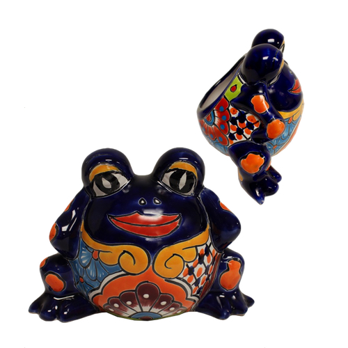 TANP274L- Buggy Eyed Frog Planter
